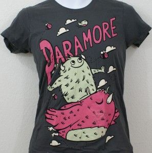 Brand New Paramore Hayley Williams Davis York Monster Tshirt XS XSmall