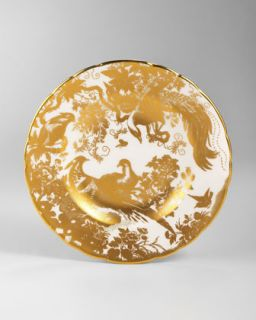 G01Z7 Royal Crown Derby Gold Aves Bread & Butter Plate