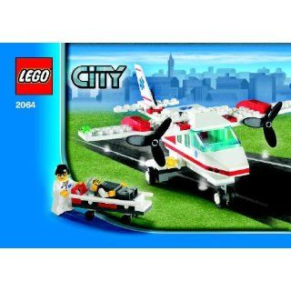 Lego City Set #2064 Air Ambulance Rescue Plane Toys