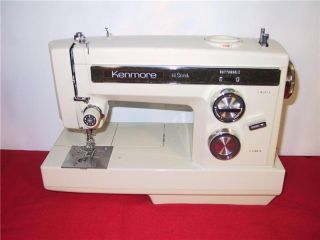 KENMORE HEAVY DUTY Multi Stitch SEWING MACHINE Free arm, model 1781