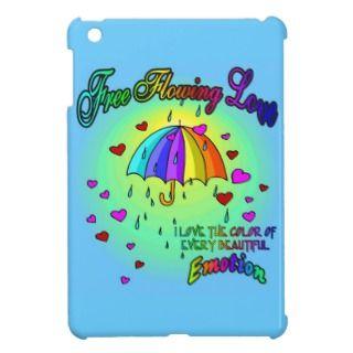 Free Flowing Love iPad Mini Cases
