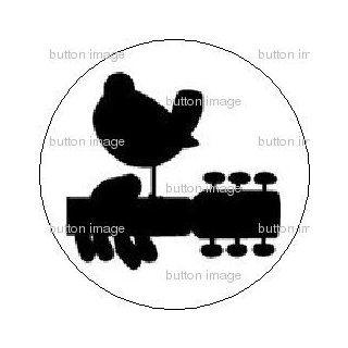 WOODSTOCK Logo Pinback Button 1.25 Pin / Badge MUSIC ART