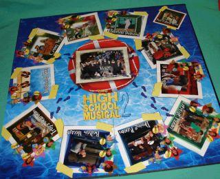 High School Musical 2 CD Board Game Disney High School Musical Board