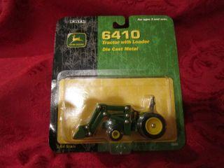 John Deere 6410 Tractor w Loader 6410 Ertl