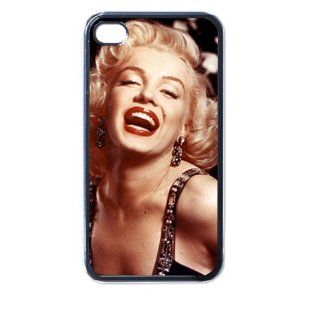 marilyn monroe a1 iphone case for iphone 4 and 4s black