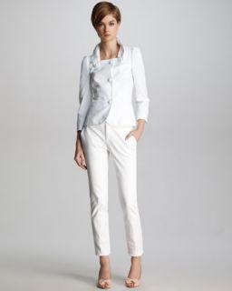 Cotton Spandex Stretch Pants  Neiman Marcus  Cotton Spandex Stretch