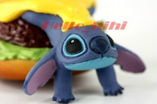 Tomy Disny Capsule World Lilo Stitch Mobile Strap B