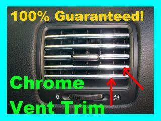 Honda Ridgeline Chrome AC Vent Trim Dash Dress Up Molding Interior Kit