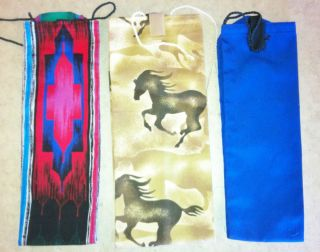 Horse Tail Bag GR8 Stocking Stuffers Colorful South Western Pattern