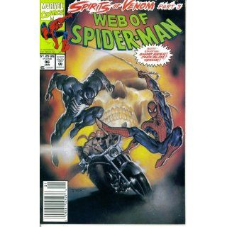 Web of Spider Man #96  Guest Starring Ghost Rider in