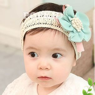 Fashion Kids Newborn Baby Girls Flower Headband Headwear Hair Band