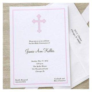 Girls Holy Cross Custom Printed First Communion