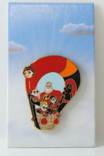 Disney Hot Air Balloon The Incredibles Mystery Pin