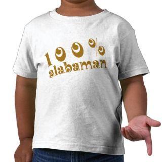 100 Percent Alabaman T shirt Gift