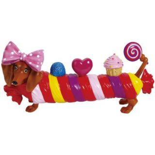 Hot Diggity Candy Shop Doxie Dog Dachshund Figurine New Figure 17955
