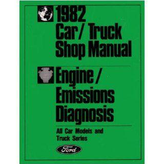 1982 Ford Car Truck Emissions Diagnosis Procedure Code Repair Manual