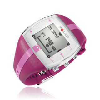 Polar FT4 Heart Rate Monitor Watch Pink New Running