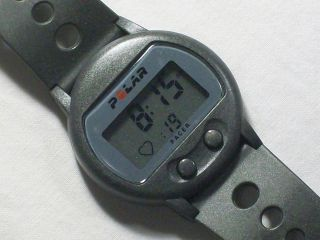 CE0537 Pacer Fitness Watch/Heart Rate Monitor in Grey, Water Resist