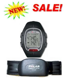 RS100 Heart Rate Monitor Watch Sport w Strap Transmitter New