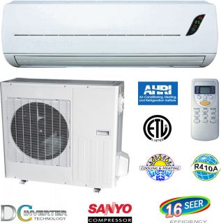 Star Ductless Mini Split Air Conditioner Heat Pump 18000 BTU