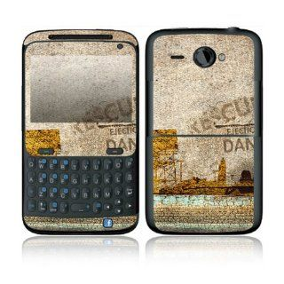 Danger Design Decorative Skin Cover Decal Sticker for HTC