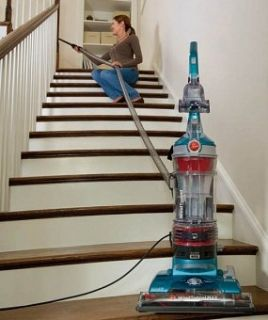 Hoover UH70600 WindTunnel Bagless Upright Vacuum Max Multi Cyclonic