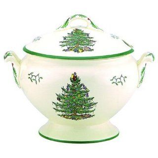 Spode Christmas Tree Soup Tureen and Cover Kitchen