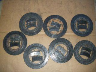 Dirt Late Model Carbon Fiber Brake Rotors and Pads