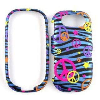 Pantech Ease P2020 Trans. Design, Colorful Peace Signs on