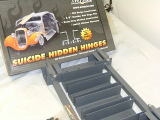Autoloc Suicide Hidden Hinge Kit Street Hot Rat Rod