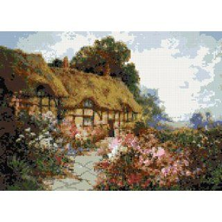 Anne Hathaways Cottage Counted Cross Stitch Kit
