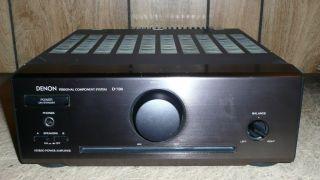 DENON D700 AMP AMPLIFIER HOME AUDIO MINI SHELF SYSTEM FOR PARTS AS IS