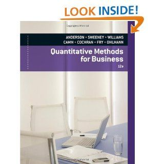 Quantitative Methods for Business (with Printed Access Card): David R
