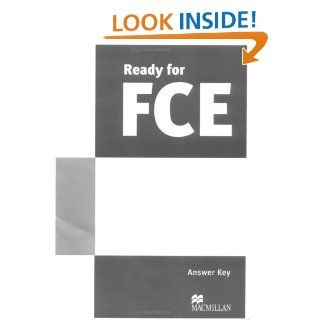 Ready for Fce Answer Key: Norris R: 9781405084345: Books