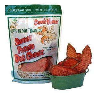 Sams Yams Veggie Rawhide Sweet Potato Chewz 1 lb