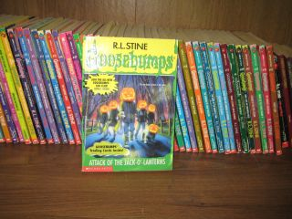 50 R L Stine Goosebumps and Other Young Adult Horror Books