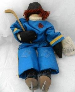 Marty Maschino Rudi Ray Stubbings Hockey Player Rag Doll 22