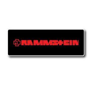 Rammstein Metal Rock Band Car Bumper Sticker Decal 6x2