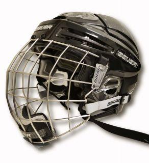 New Bauer 9900 Hockey Helmet Combo Black Large