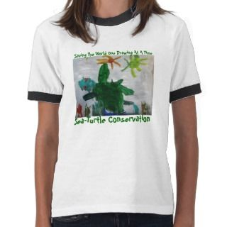 Sea Turtle Conservation T Shirt