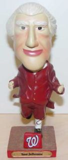 Jefferson Washington Nationals Bobble Bobblehead SGA Dented Box