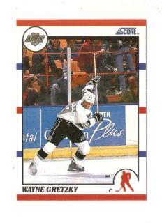 1990 91 Wayne Gretzky Score Hockey Trading Card 1