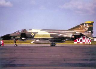 Squadron McDonnell Douglas F 4D Phantom at Hill Air Force Base, Utah