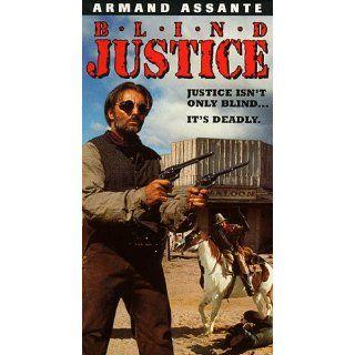 Blind Justice [VHS] Armand Assante, Elisabeth Shue
