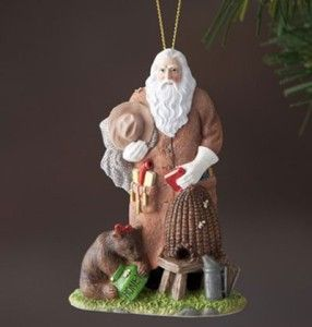 Pipka Christmas Ornament #11804   HONEY BEE SANTA