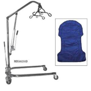 Medline Hydraulic Hoyer Patient Transfer Lift w Sling