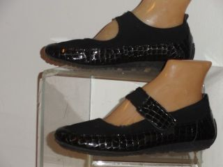 Helle Comfort Lynn Black Mary Jane Shoes Size 37 7