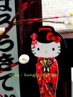 Hello Kitty Japanese Girl Geisha Eyebrow Jewelry Slant Clamp Makeup