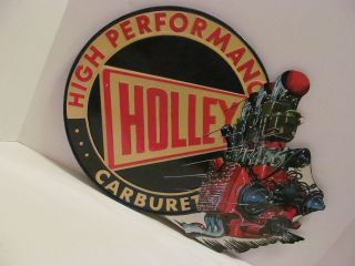 Holley Carburetors High Performance Flathead Ford Vintage Style Sign