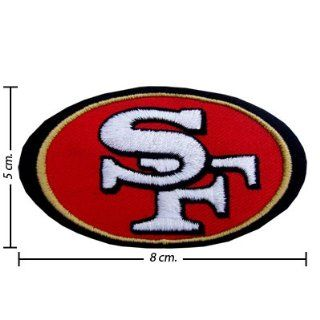San Francisco 49ers Logo 1 Embroidered Iron on Patches